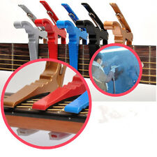 New Quick Change Key Trigger Acoustic Electric Folk Guitar Tune Capo Clamp TS