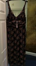 Phase Eight Gold Lined Lace Beaded Very Elegant NEW Ladies Dress Size 18 RRP£120