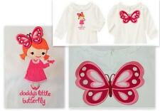 Gymboree Daddys Little Butterfly Girls Fall 3D Winged Wings Fall Top 18-24 or 5T