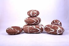 A set brown pebble stone pillow/pillowcases rock cushion/cushion covers