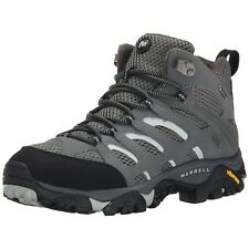 Merrell Men Boots Moab Mid Waterproof Hiking Boots Sedona Sage