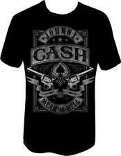 JOHNNY CASH - Cash Mean As Hell - T SHIRT S-M-L-XL-2XL New - Official T Shirt