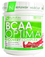 Nutrakey BCAA Optima Post Workout Amino Acids Product Select Flavor 30 Servings
