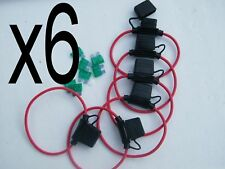 WEATHER PROOF  INLINE FUSE 30 AMP FUSE HOLDER X 6