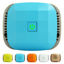 Smart Car Air Purifier Rechargeable & Wireless Ionizer Filter-Less Air Freshener