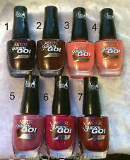 Astor 45 sec Quick' N Go Nail Polish- Brand new- *VARIOUS COLOURS AVAILABLE* 8ml