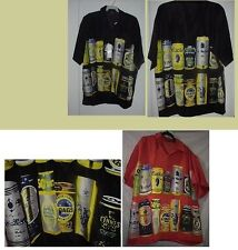 NEW BEER LOVERS HAWAIIAN SHIRT IN BLACK  or YELLOW  size S or M