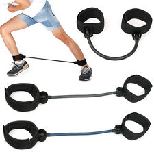 Heavy Duty Leg Thigh Strength Resistance Cord Fitness Exercise Band Cord Loop