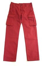NWT Levi's Men's Cargo Carpenter Utility Trousers 32 33 34 38 Pants Red NEW