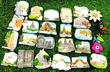 New Tourist Around world Fridge Magnet Souvenir Ceramic Gifts Zone South Asia US