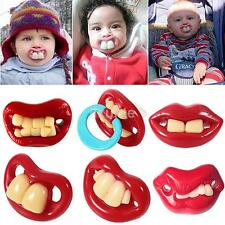 9 Styles Funny Infant Pacifiers Dummy Baby Teether Pacy Orthodontic Nipples LX