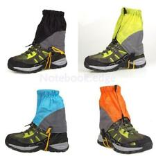 Nylon Outdoor Waterproof Ankle Walking Gaiters Boots Covers Hiking Trekking Gear