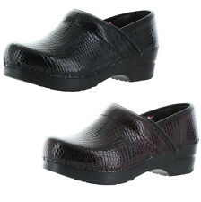 Sanita Croco Women's Professional Closed Back Clogs Shoes US Sizes