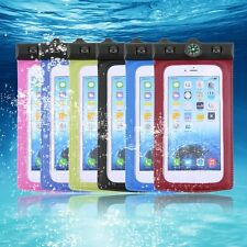 Hot Compass Waterproof Transparent Pouch Dry Bag Case For iPhone 6 Plus 5.5'' BO