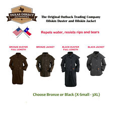 New Outback Trading Co Oilskin Duster Jacket (XS-3XL) FREE SHIPPING