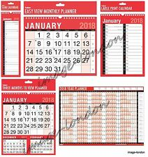2016 Wall Calendar Slim Calender, Large Month to View Planner,Easy View Calendar