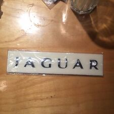 Real Jaguar  Letter Car Trunk Tailgate Emblem Badge Rectified XJ XJL XF XK NEW