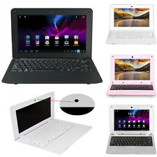 """10"""" Android 4.4 Netbook Dual Core Laptop Camera WiFi Netbook Notebook 4GB 1.5GHz"""