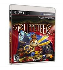 PS3 Puppeteer (Sony PlayStation 3, 2013) New & Factory Sealed