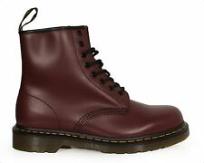 Men's Shoes Dr. Martens 1460 8 Eye Boots 11822600 Cherry Red Smooth Leather NIB