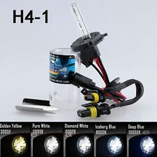 All Color Xenon HID Replacement Bulb Light 6000K White Blue Yellow Low beam H4 J
