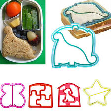 Lunch Kids Sandwich Toast Cookies Cake Bread Biscuit Food Cutter Mold Mould DIY