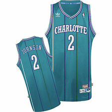 #2 Larry Johnson Charlotte Hornets throwback NBA jersey Mens sizes new with tags