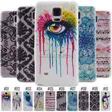 Painted Gel Soft TPU Silicone Back For Smart Samsung Phone Case Cover Skin Shell