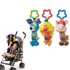 Kids Baby Soft Animal Handbells Developmental Toy Rattles Bed Stroller FST