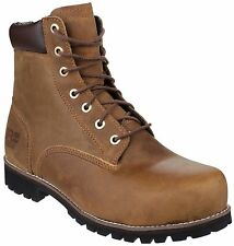 TIMBERLAND PRO EAGLE FULL GRAIN LEATHER UPPER STEEL TOE CAP BOOT SIZE 6 - 12