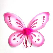 Fancy Kid Girl Angel Fairy Butterfly Wings Halloween Party Dress Up Costume