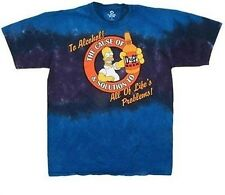 The Simpsons Alcohol, The Cause of and Solution to... Men's Shirt