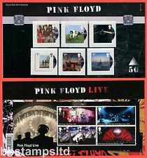 2016 Music Giants - Pink Floyd Presentation Pack No. 528