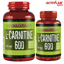 L-Carnitine 600 60-270 Caps Fat Burner Weight Loss Turn Fat Into Energy Slimming