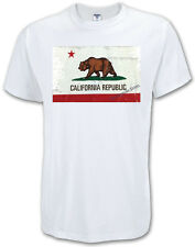 CALIFORNIA REPUBLIC STATE FLAG T-SHIRT ALL SIZES & COLORS (302)