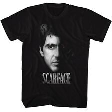 Scarface T-Shirt Two Face Black T-Shirt