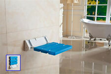 New Wall Mounted Folding Shower Seat Bathroom Stool Mobility Aid Spa Bench