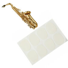 0.8mm Mouthpiece Patches Pads Cushions For Saxophone Clarinet Alto/Tenor White