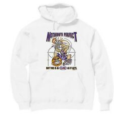 Pullover Hooded Sports Sweatshirt Nothing's Perfect As Close Gets Basketball