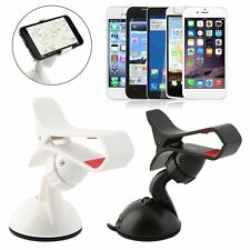 Universal 360 Degree Rotating Car Windshield Mount Stand Holder For IPhone BG