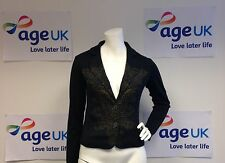 REDUCED BNWT Peruvian Connection Gingerlily Knit Blazer Cardigan XS 6-8 RRP £179