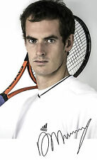 PP signed photograph Andy Murray Wimbledon winner 2016 Kate Bush Carry On +more!