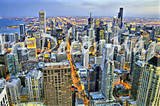 Downtown Chicago - CANVAS OR PRINT WALL ART