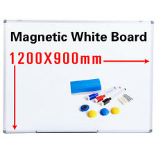 Office School Magnetic Dry Wipe Whiteboard Drawing Memo Notice Board Pen&Eraser