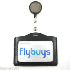ID Card Badge Holder Retractable Business Reel Strap Lanyard Cord Security Pass