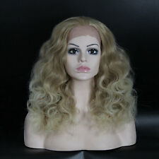 "Fashion Wigs Women 21"" Lace Front Long Curly Hair Natural Party Sexy Full wigs"