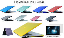 Screen Protector/Crystal Clear Protective Case For Mac Book Pro (Retina) 13.3""