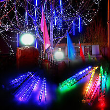 Cool Meteor Shower Falling Star/Rain Drop/Icicle Snow LED Xmas Tree String Light