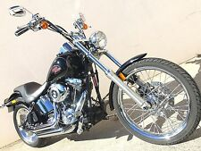 2008 Harley Davidson Softail Custom with 12,000kms and Gloss Black FXSTC