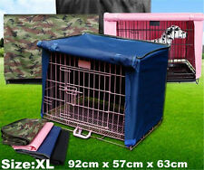 Breathable Pet Dog Crate Cage Kennel Cover Fence Windproof Waterproof Cage Cover